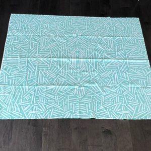 Mint Green geometric tapestry!